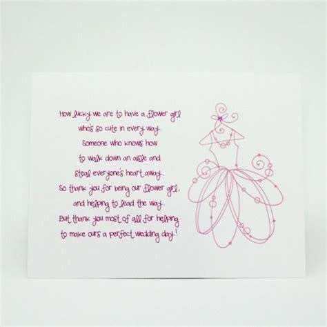 Flower Girl Thank You Card by BesoBisou   Wedding Ideas