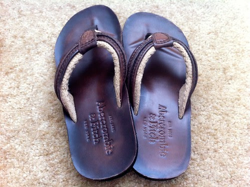 A&F Leather Sandals