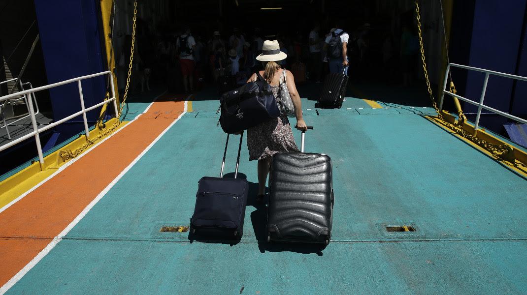Ξεκινά η έξοδος των εκδρομέων του Αυγούστου -Φωτογραφία: Intimenews/ΛΙΑΚΟΣ ΓΙΑΝΝΗΣ