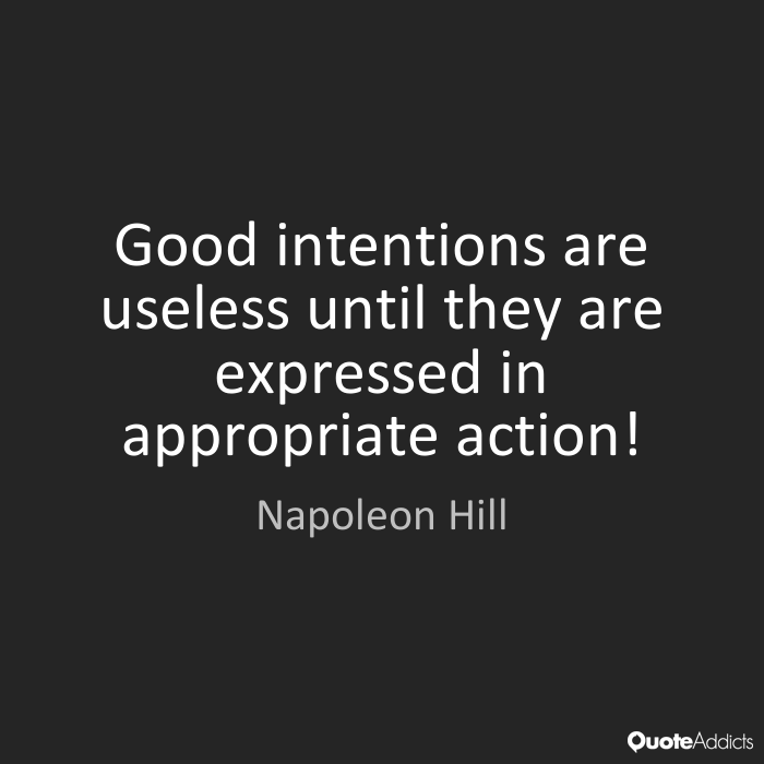 Quotes About Power Of Intention 58 Quotes