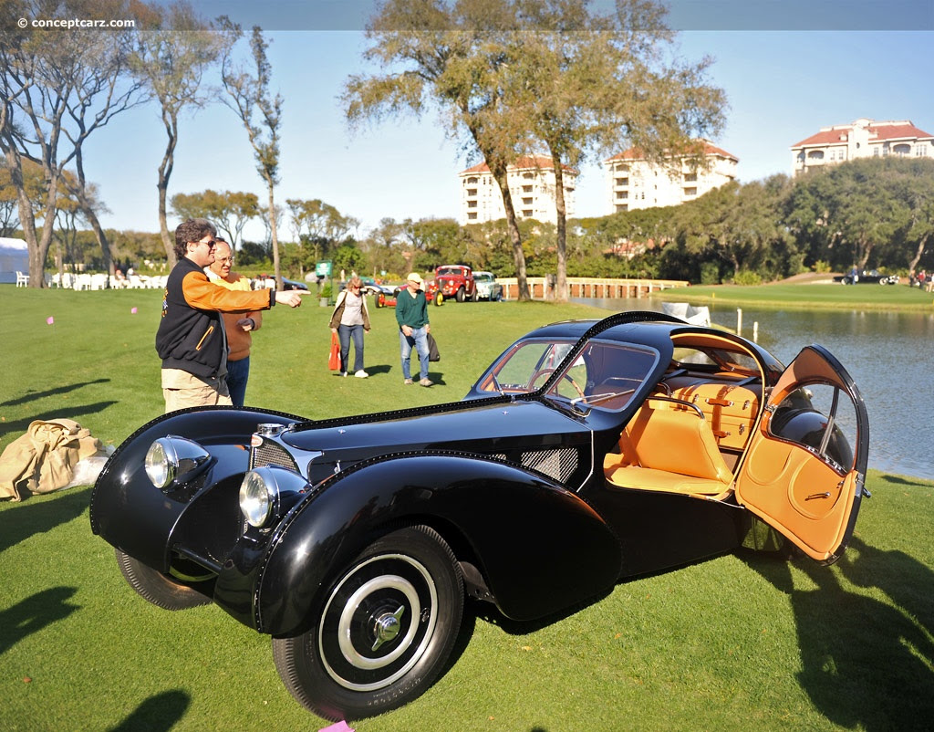 1936 Bugatti Type 57 chassis information. 12028
