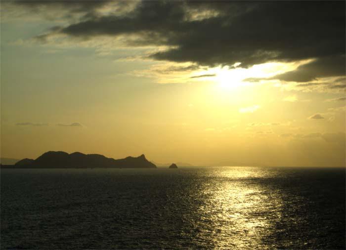 Kanmon Ko Sunset