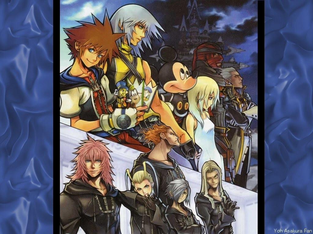 Kingdom Hearts 2 Wallpapers Letter A Studio
