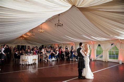 Romantic shabby chic scottish wedding with purple and