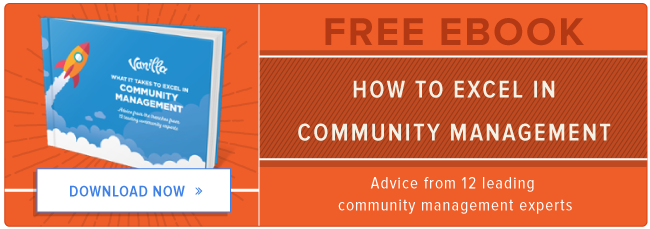 free ebook: how to excel in community management