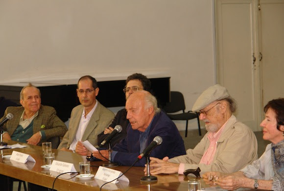 Eduardo Galeano inauguró el Permio Casa de las Américas. Foto: David Vázquez Abella