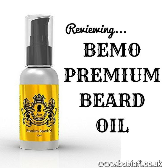 Reviewing BEMO premium beard oil
