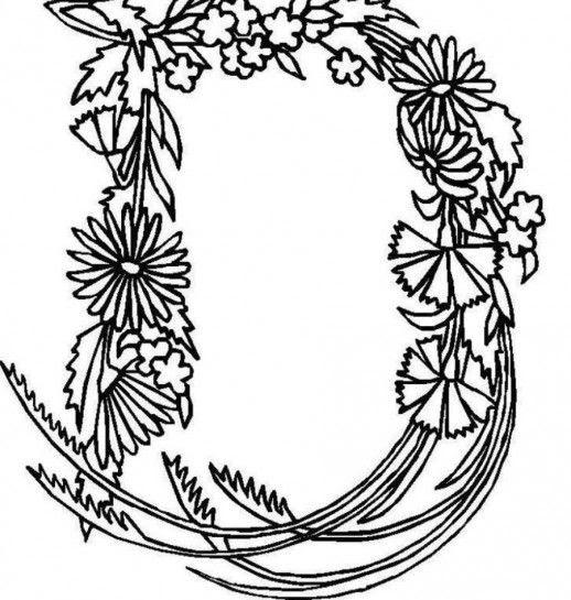 Ongekend Mewarnai 212: Kleurplaten Bloemen Henna AS-04