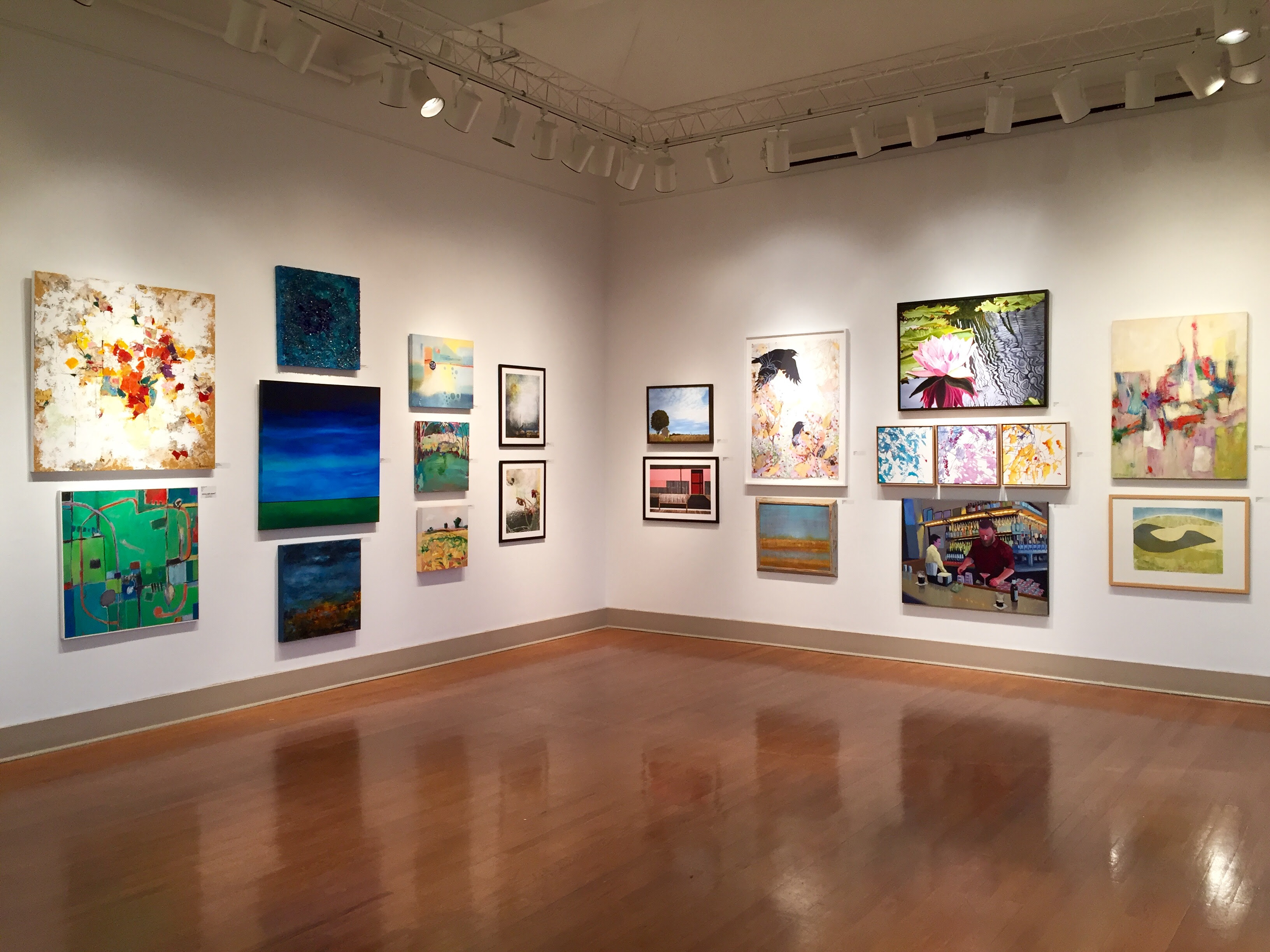 Curatorial Walkthrough Of Professional Artist Members Exhibition