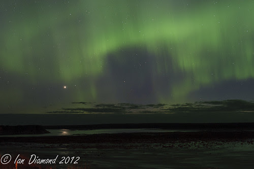 Rupert River Rapids and the Northern Lights  BUD_4884