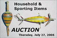 Household & Sporting Items Auction