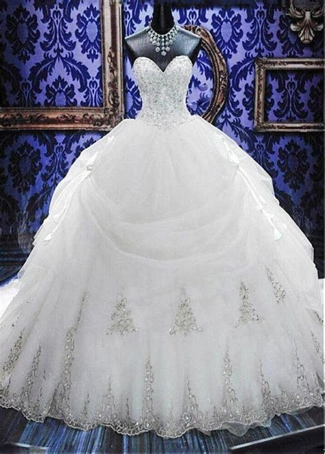 whiteivory wedding dress bridal gown ball size