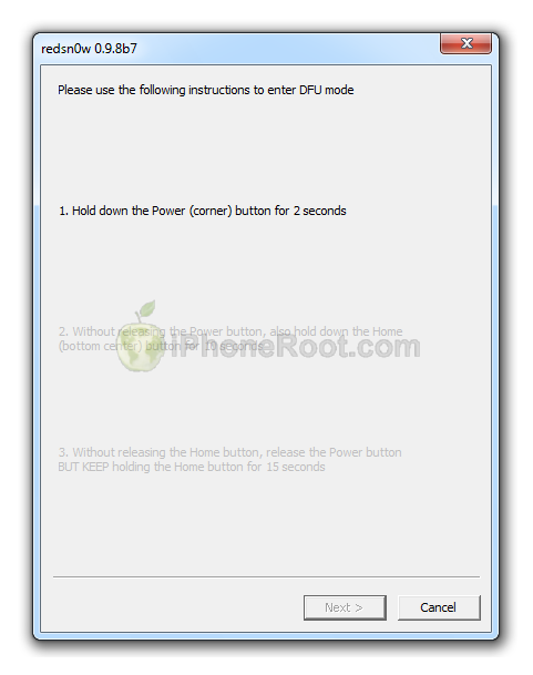 Step-by-step Tutorial: How to Tether Jailbreak iPhone 4 ...