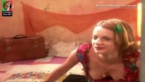 Maria Luisa Mendonça sensual na serie Brava Gente