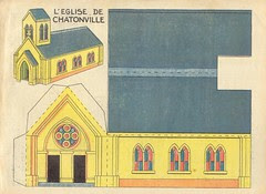 dec eglise jaune