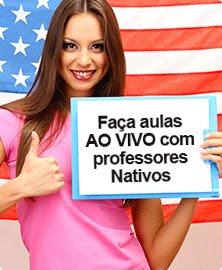 Aulas ao Vivo com Tutores Nativos