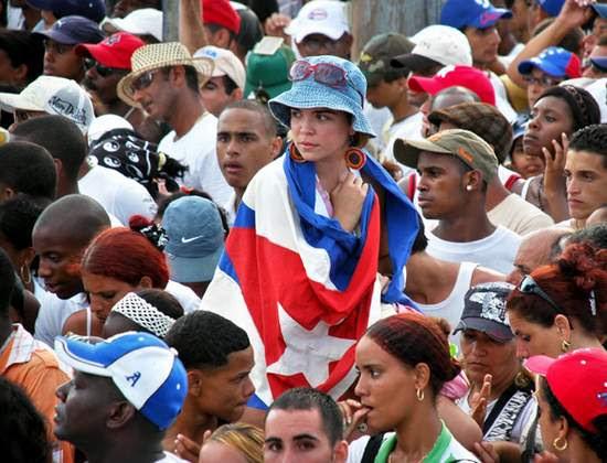 Jóvenes cubanos