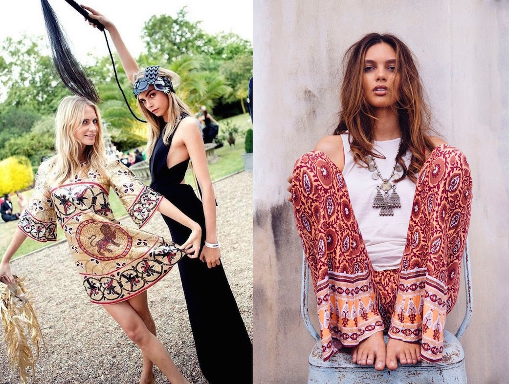 boho hippie style clothing for women