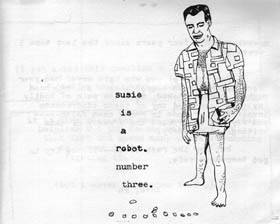 Zine - Susie is a Robot #3