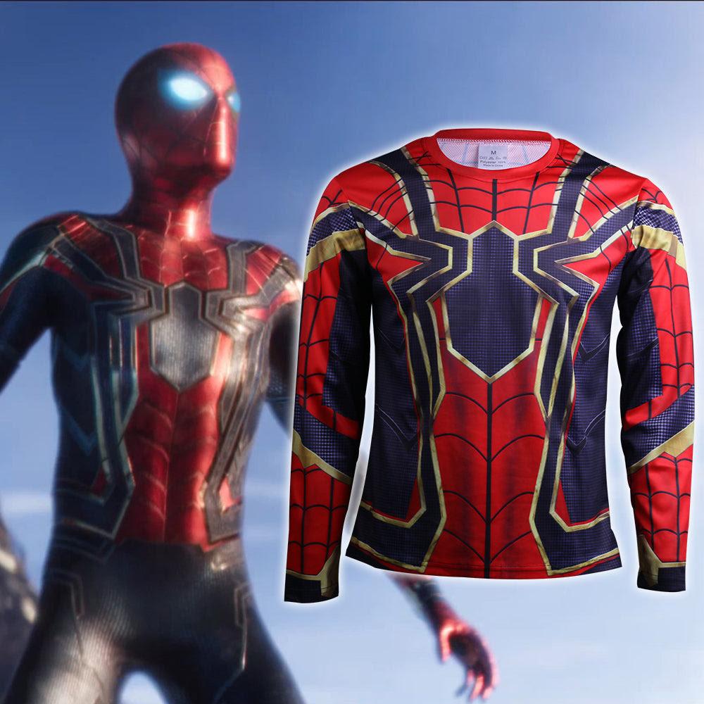 Avengers Infinity War T Shirts Cosplay Iron Spiderman 3d Sports T