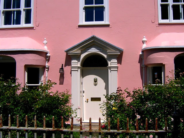 Now That's Pink! - The Old Vicarage in Rye, East Sussex