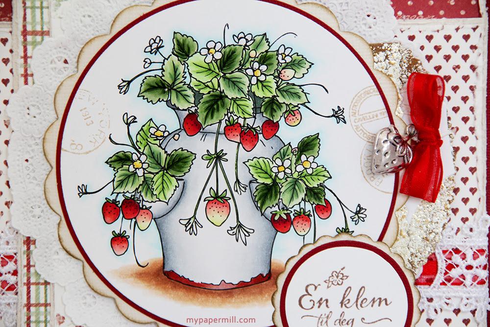 Ellen 54 Justinklined Strawberry pot