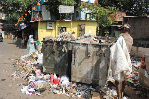 Good Morning Bandra Garbage Queen of the Suburbs by firoze shakir photographerno1