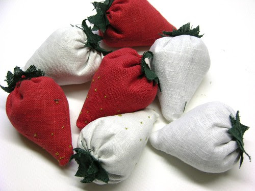strawberry sachets