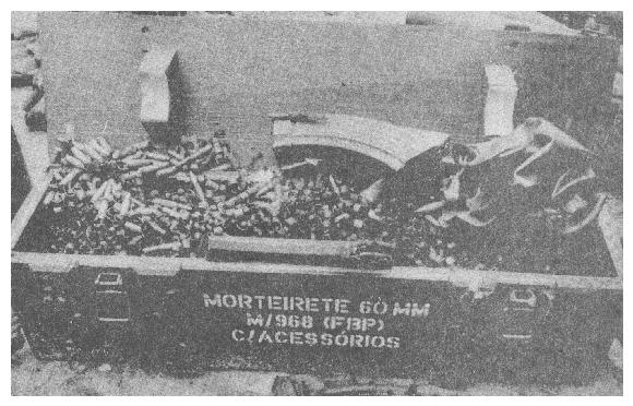Captured armaments