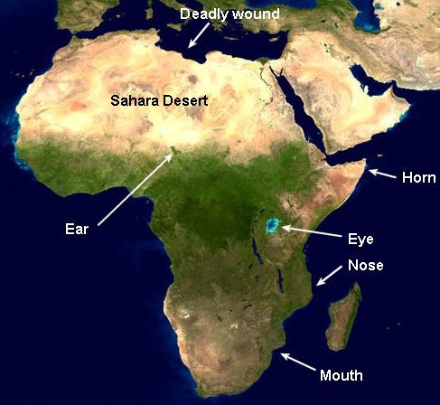 Where Is The Sahara Desert Located On A World Map | World Map