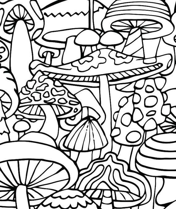 Stoner Printable Coloring Pages For Adults Coloring And Drawing