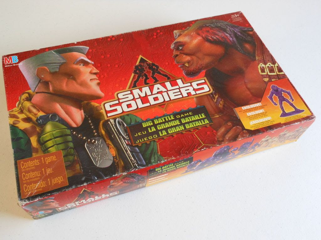 Small Soldiers: Big Battle Game box