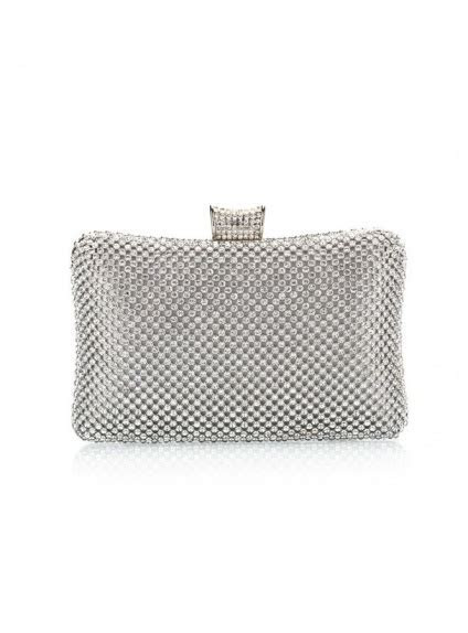 Silver Rhinestone Wedding Handbags