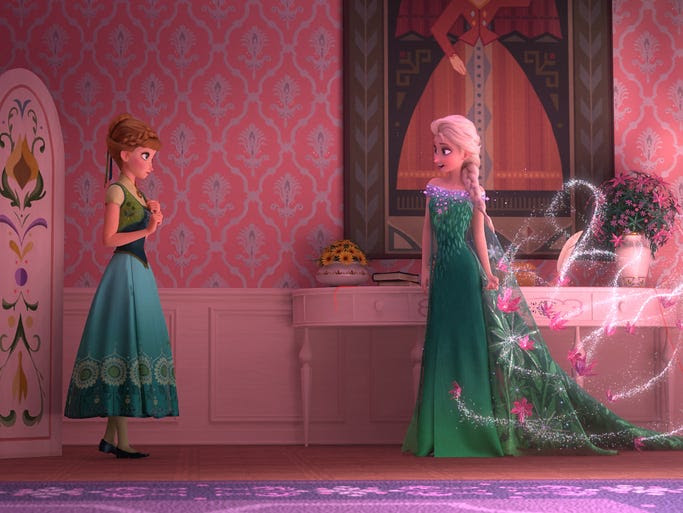 The new Disney short 'Frozen Fever' brings back sisters