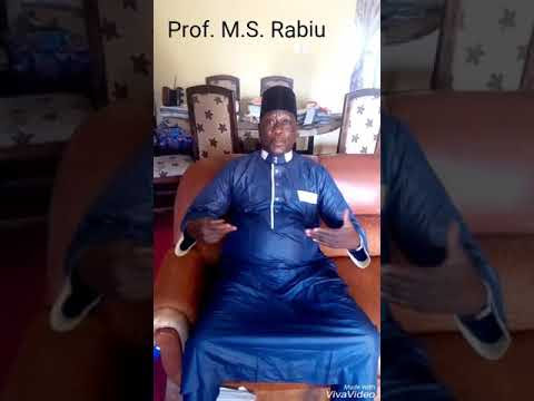 VIDEO: Prof. Muhammad S. Rabiu Becomes A.Y.L's Patron; Commends Enoch Israel