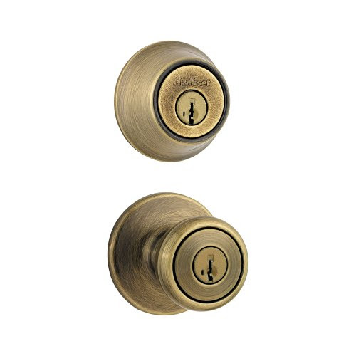 Kwikset 690 Tylo Entry Knob and Single Cylinder Deadbolt Combo