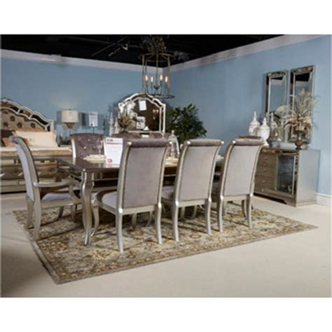ashley furniture rectangular dining extension table