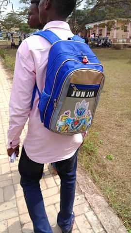 IMSU 1st Year Student Paddocks His Bag (Photos)