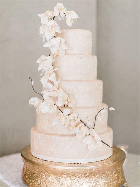 Sugar Flower Wedding Cakes: 24 Unique Sugar Flower Wedding