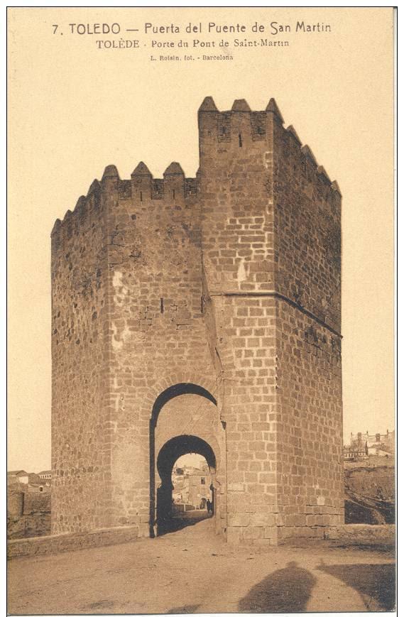 Puente de San Martín a comienzos del siglo XX. Foto Roisin