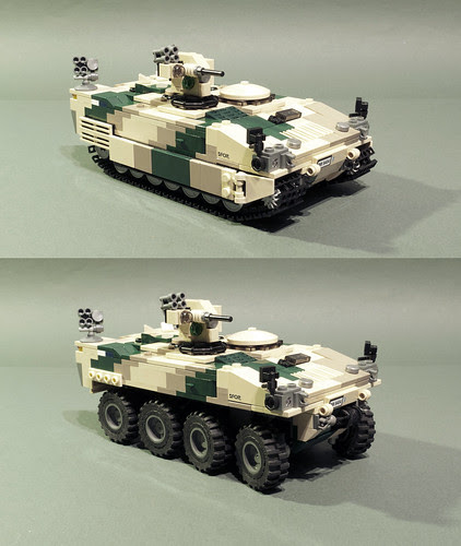 Spadroon chassis modularity