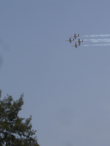 Independence Day flyover