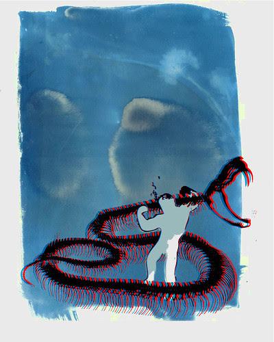 Snake-VS-Hercules by dot23x