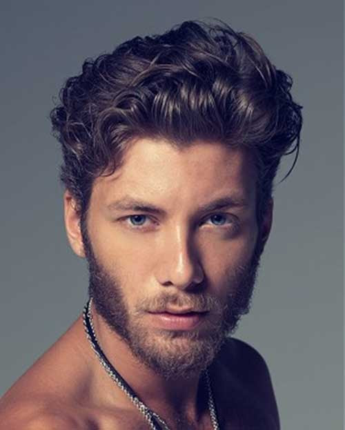 42 Hairstyle For Short Wavy Hair Male Charming Style