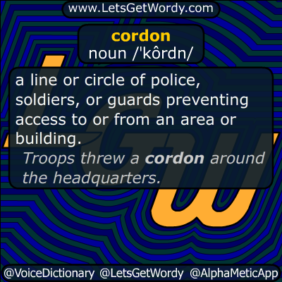 cordon 06/15/2016 GFX Definition