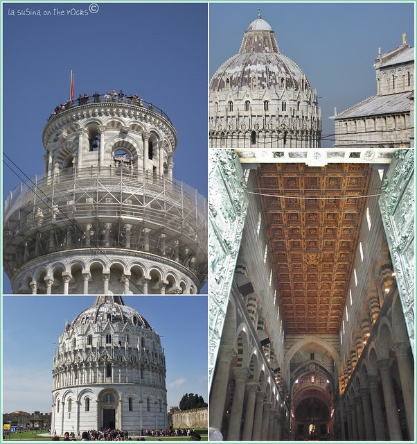 Pisa, the cathedral and the leaning tower