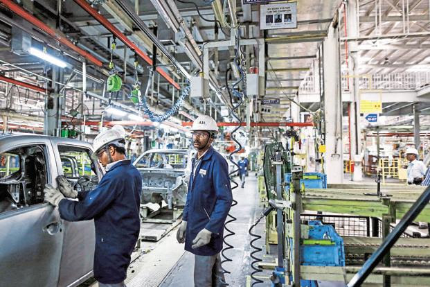 WEF said India's manufacturing sector has grown by over 7% annually on average in the past 3 decades and accounts for 16-20% of its GDP. Photo: Bloomberg