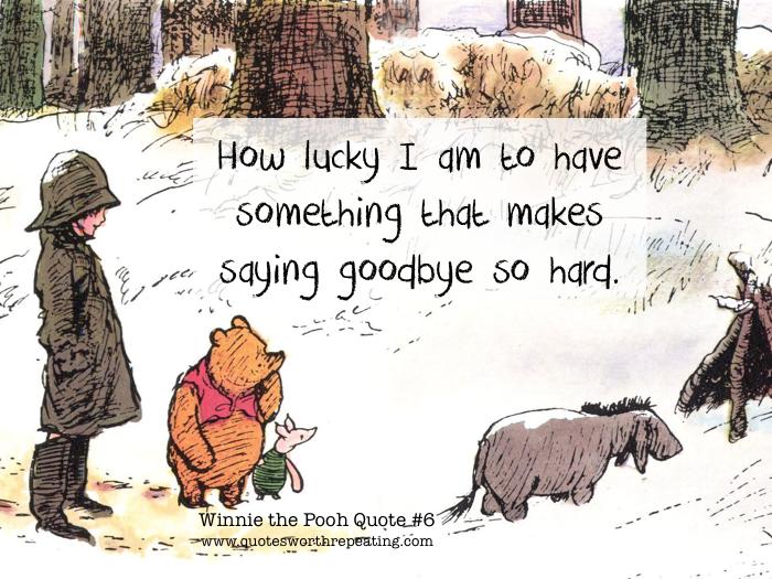 Winnie The Pooh Hard To Say Goodbye Archidev