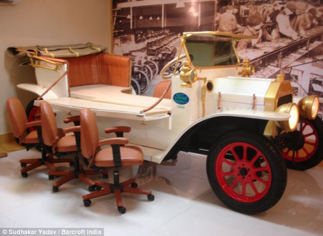Multi-purpose: This car can also be used as a dinning table