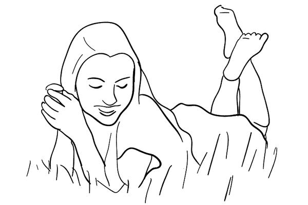 Позирование: позы для женского портрета 1-6